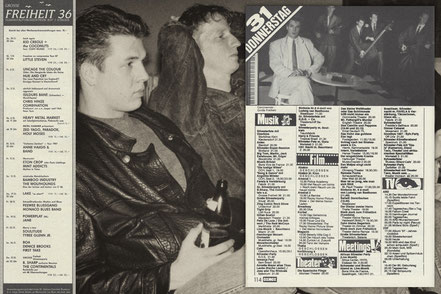 Foto: The Continentals 1987