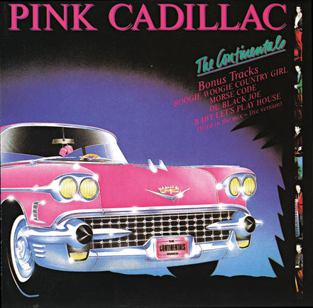 The Continentals, CD, Pink Cadillac