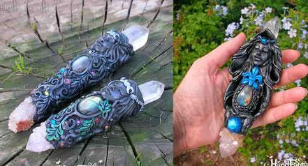 Colgante Nativa Americana, Figura nativa americana, collar nativa americana,  joyería nativa americana, escultura nativa americana