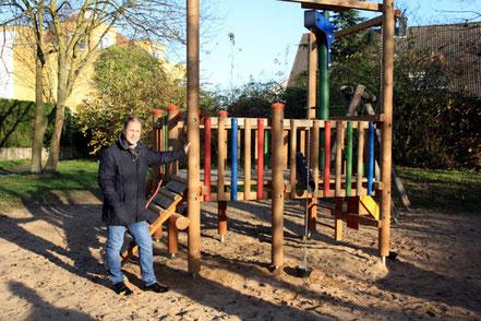 Der Spielplatz an der Max-Ernst-Straße: Das Highlight unter Ückesdorfs Spielplätzen