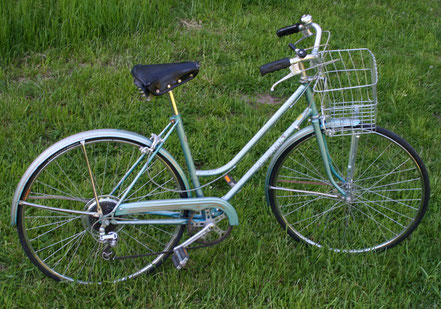 Blue schwinn bike w/basket