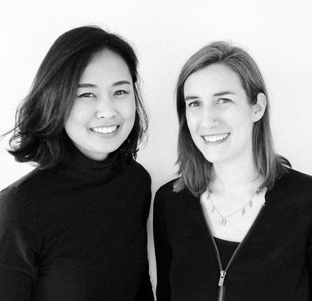 Chollada und Joanna die beiden Gründerinnen von Kaio Swim