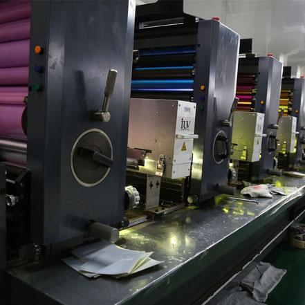 Offset-Druck Maschine