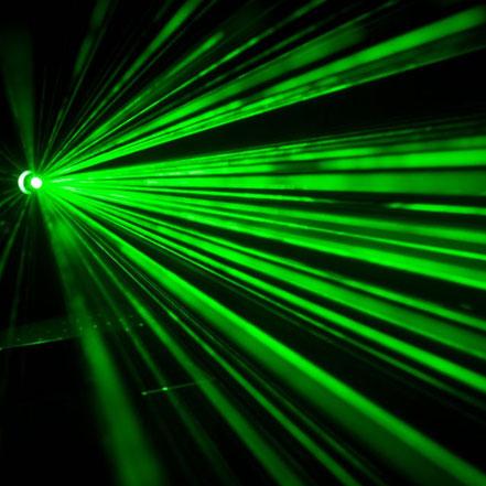 Lasergravur grünes Licht