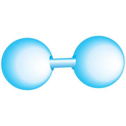 Bild: Sauerstoff-Atom O2