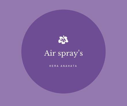 100% natuurlijke air spray's met etherische olie