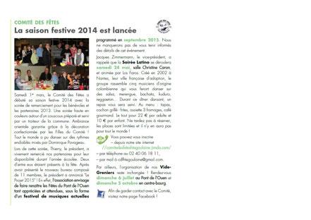 Journal municipal Avril 2014