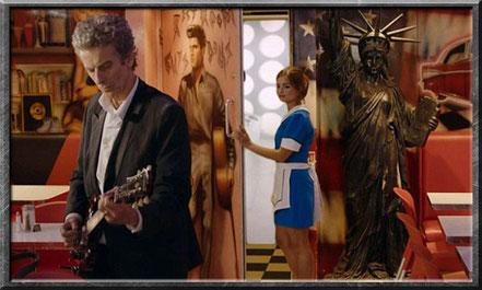 Clara verabschiedet sich vom Doctor