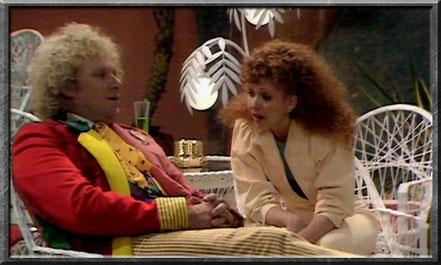 Der sechste Doctor und Mel