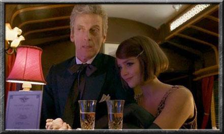 Der zwölfte Doctor und Clara im Orient Express