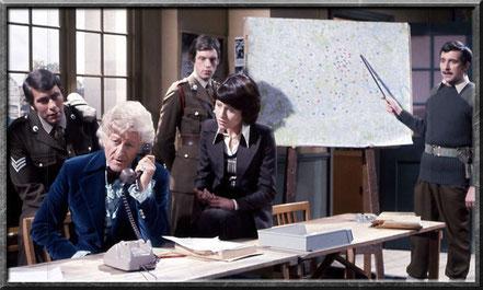 Der dritte Doctor ist ein wichtiger Mitarbeiter von UNIT