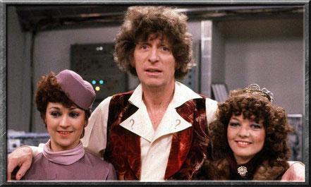 Der vierte Doctor, Nyssa und Tegan