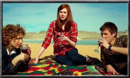 Familie Pond... River, Amy und Rory