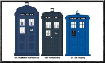 TARIDS aus den Jahren 1929, 1963 und 1976