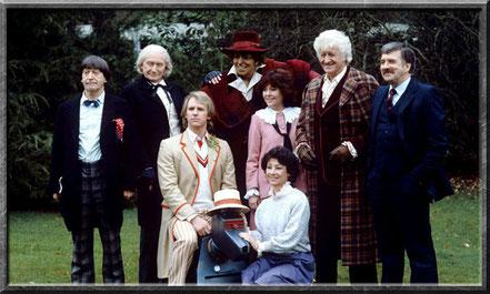 Sarah Jane in The Five Doctors
