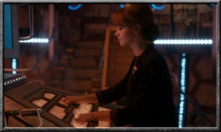 Clara steuert die TARDIS telepathisch