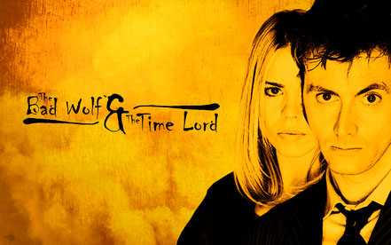 Bad Wolf and Time Lord - 1920x1200