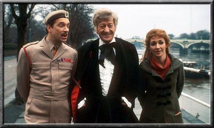 Der Brigadier mit dem dritten Doctor