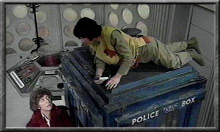Adric in der TARDIS