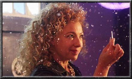 Sie hat einen Schlüssel für die TARDIS