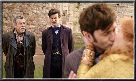 Der War Doctor bei der Hochzeit des zehnten Doctors
