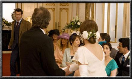 Der Doctor platzt in Sarah Janes Hochzeit