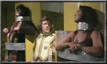 Leela und der vierte Doctor als gefangene