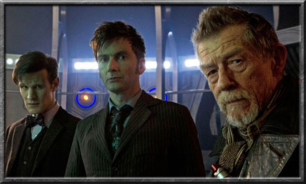 Der elfte, zehnte und War Doctor
