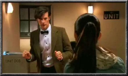 Der elfte Doctor und Rani