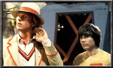 Der fünfte Doctor und Adric