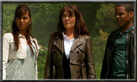 Rani, Sarah Jane und Clyde