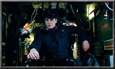 Jack in seinem Raumschiff