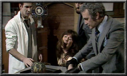 Sarah Jane in der Folge Seeds of Doom 1976