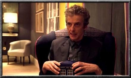 Peter Capaldi bei einem Interview