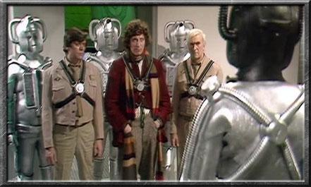 Der vierte Doctor trifft auf die Cybermen