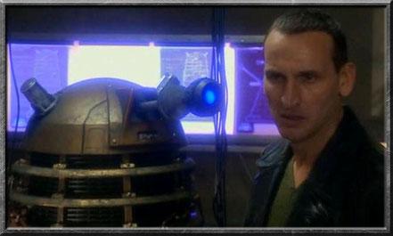 Der neunte Doctor hasst die Daleks