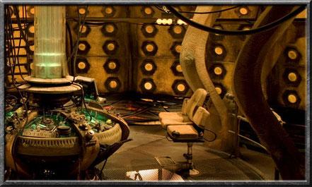 Der Kontrollraum des neunten und zehnten Doctors