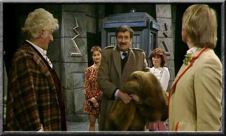 Der Brigadier mit dem dritten und fünften Doctor