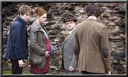 Rory, Amy und der Doctor treffen auf den Dream Lord