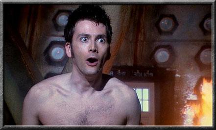 Die Meta-Krise des zehnten Doctors entsteht in der TARDIS