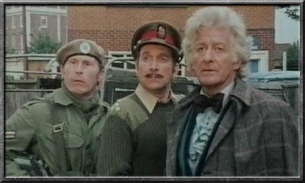 Brigadier Lethbridge-Stewart und der dritten Doctor
