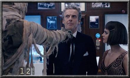 Der Doctor und Clara im Orient Express