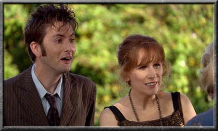 Der zehnte Doctor und Donna
