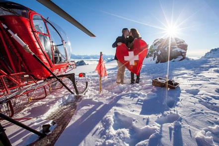Helikopterflug Schweiz