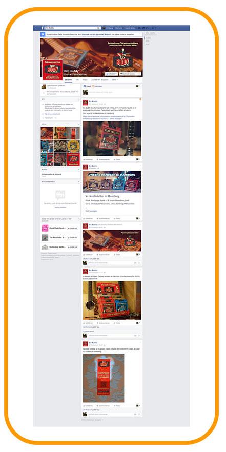 Six Buddy Facebook Account