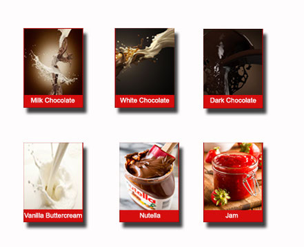 cream selection