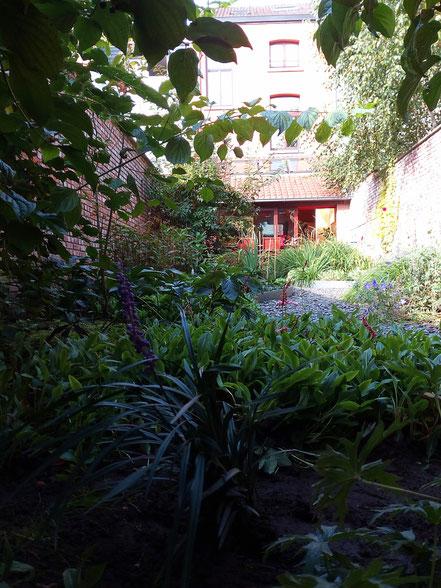 Jardin de ville - Entretien de jardin Bruxelles