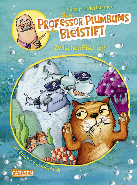 Professor Plumbums Bleistift – Zwischen Fischen! 05|2018 CARLSEN