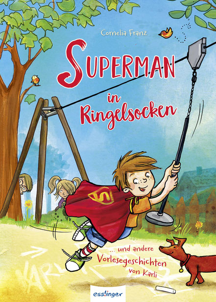 Superman in Ringelsocken 08|2017 Esslinger