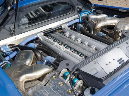 Moteur V12 Bugatti EB 110